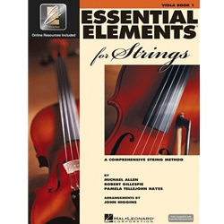 Essential Elements for Strings Viola Book 1 with EEi