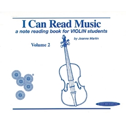I Can Read Music for Violin (Vol. 2)