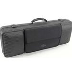 Jakob Winter Greenline Oblong Viola Case - Carbon Black/Black Interior