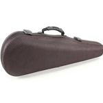 Jakob Winter Greenline Shaped Violin Case - Carbon Red
