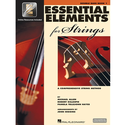 Essential Elements for Strings Double Bass Book 1 with EEi