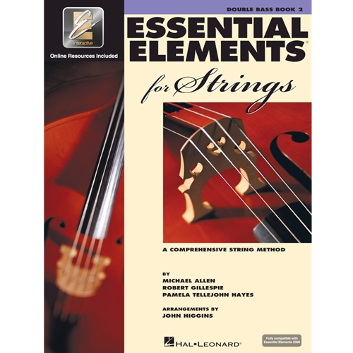 Essential Elements for Strings: Double Bass (Book 2)