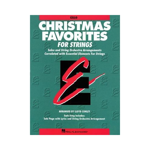 christmas favorites for strings cello - Classic Christmas Favorites