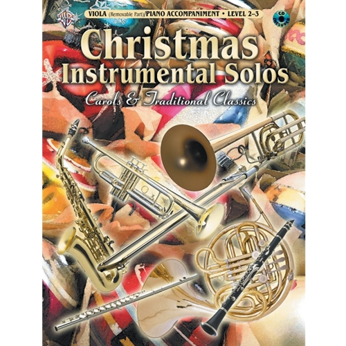 Christmas Instrumental Solos for Viola (Level 2-3)